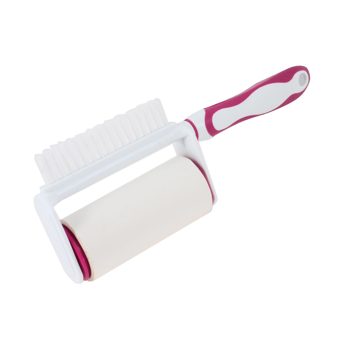 Plastic Handle Reusable Sticky Remover Brush Picker Clothes Cleaner Lint Roller
