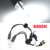 6000K 2-bulb Xenon HID Headlight Lens Lamp Bulbs for Car Vehicles