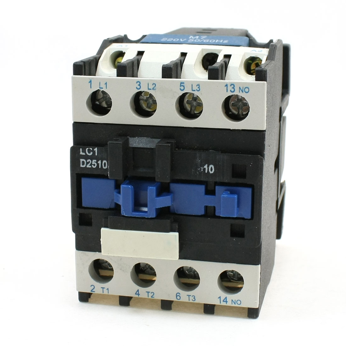 LC1-D2510 3 Poles 3P NO. DIN Rail Mounting AC Contactor 220V Coil