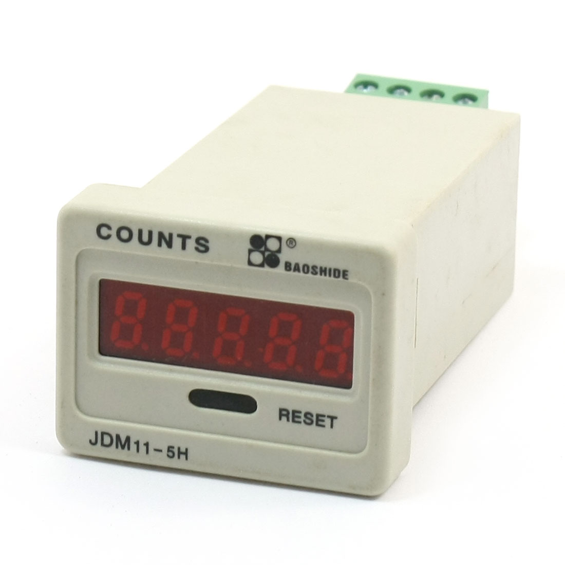 24VDC Input Signal 1-99999 Press Reset Digital Accumulating Counter JDM11-5H