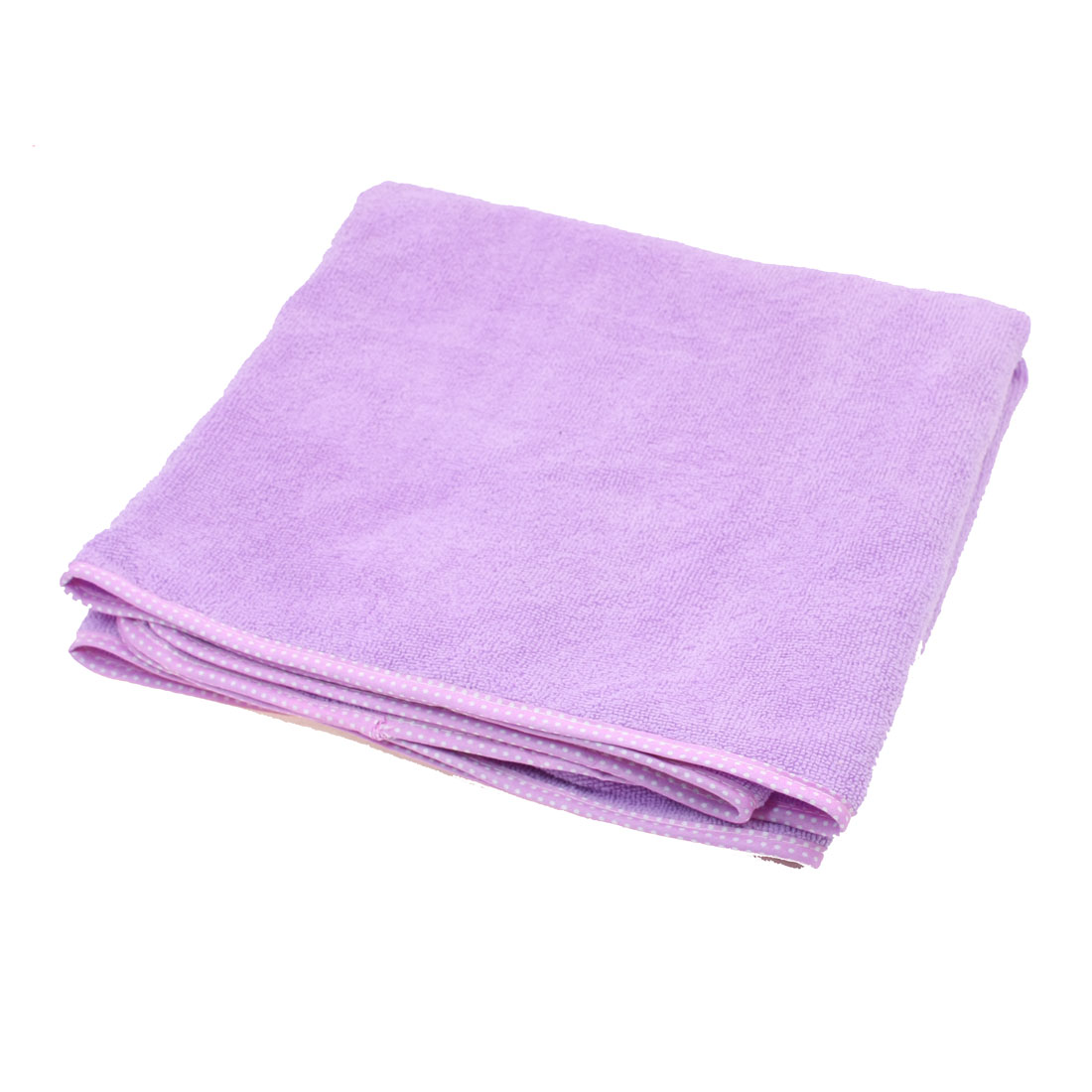 Girl Kids Swimwear Shower Body Spa Bath Wrap Robe Towel Bathrobe Purple