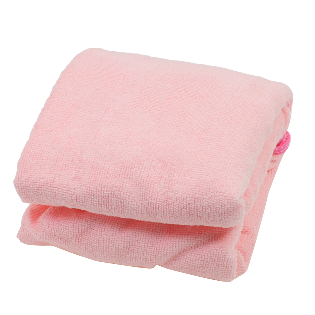 Girls Breathable Microfiber Beach Swim Body Bath Wrap Bathrobe Pink