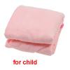 Girls Breathable Microfiber Beach Swim Body Bath Wrap Bathrobe Pink