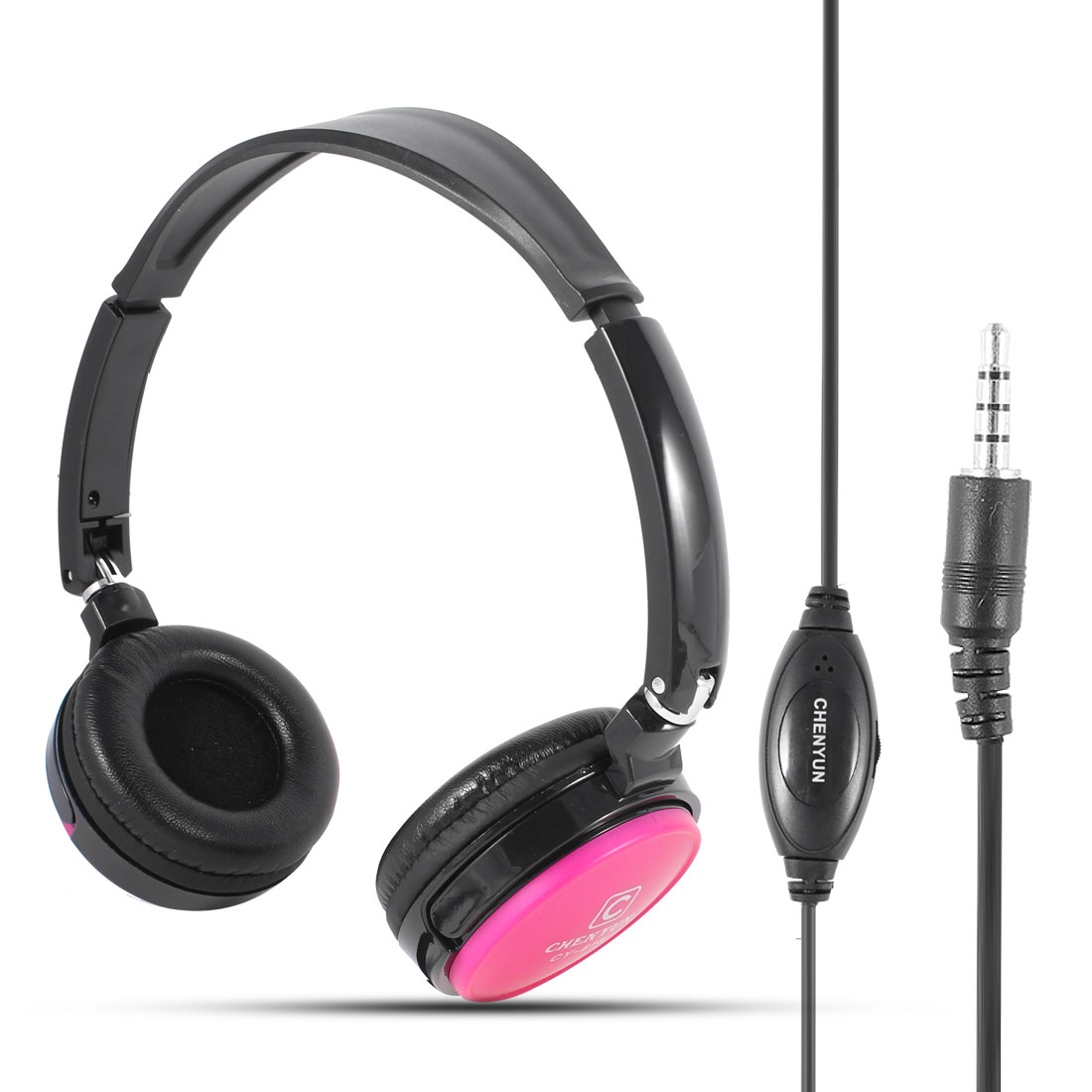 Adjustable Headband 3.5mm Connector Stereo Headphone Headset for PC Laptop Cellphone