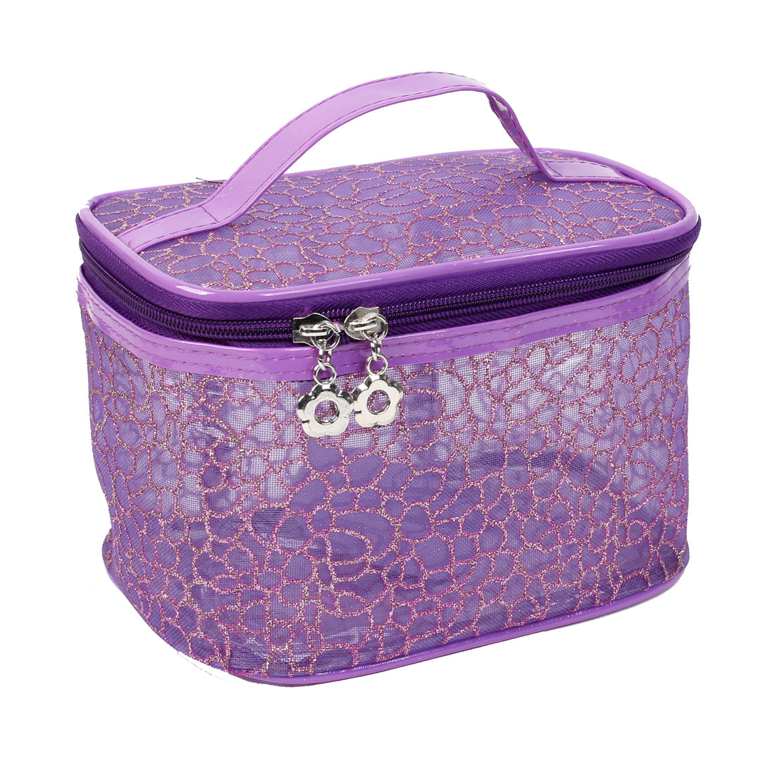 Purple Waterproof Storage Case Makeup Cosmetic Bag for Women
