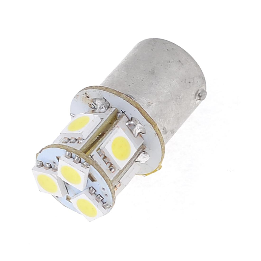 1156 BA15S P21W 5050 SMD 8-LED Turn Brake Light Bulbs White for Car