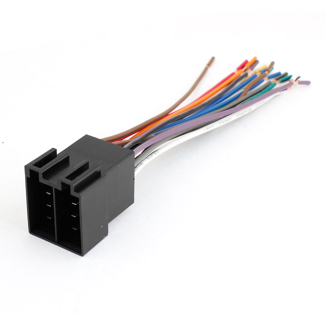 Auto Car Aftermarket Black Shell Mele Radio Wire Harness for VW