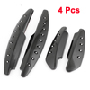 4 in 1 Auto Car Black Rubber Exterior Door Protector Guard Sticker Set