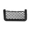 Car Black Plastic Elastic Nylon Net Design Phone Card String Bag Holder