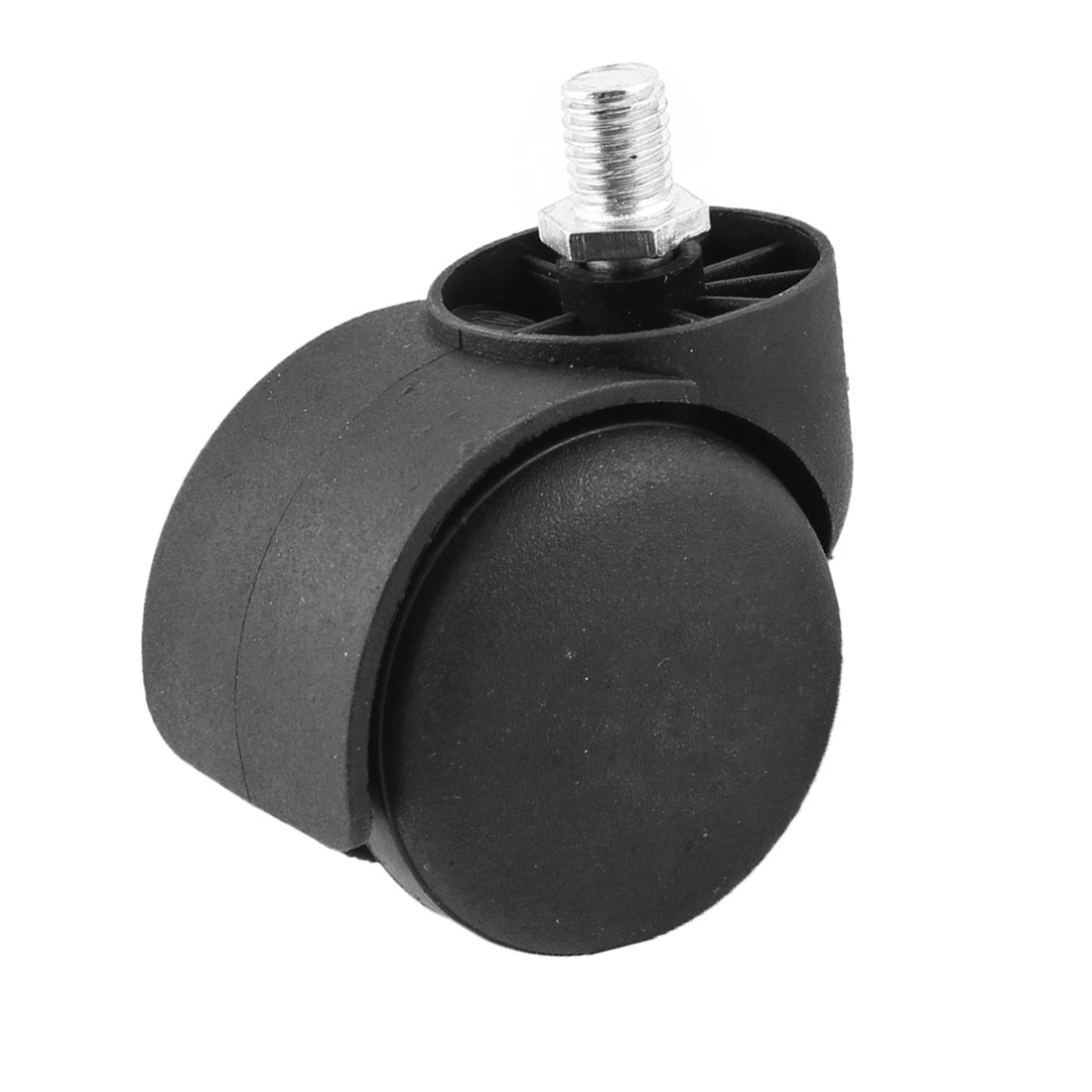 "10mm Thread Diameter 2"" Wheel Rotatable Caster Black for office Chair"