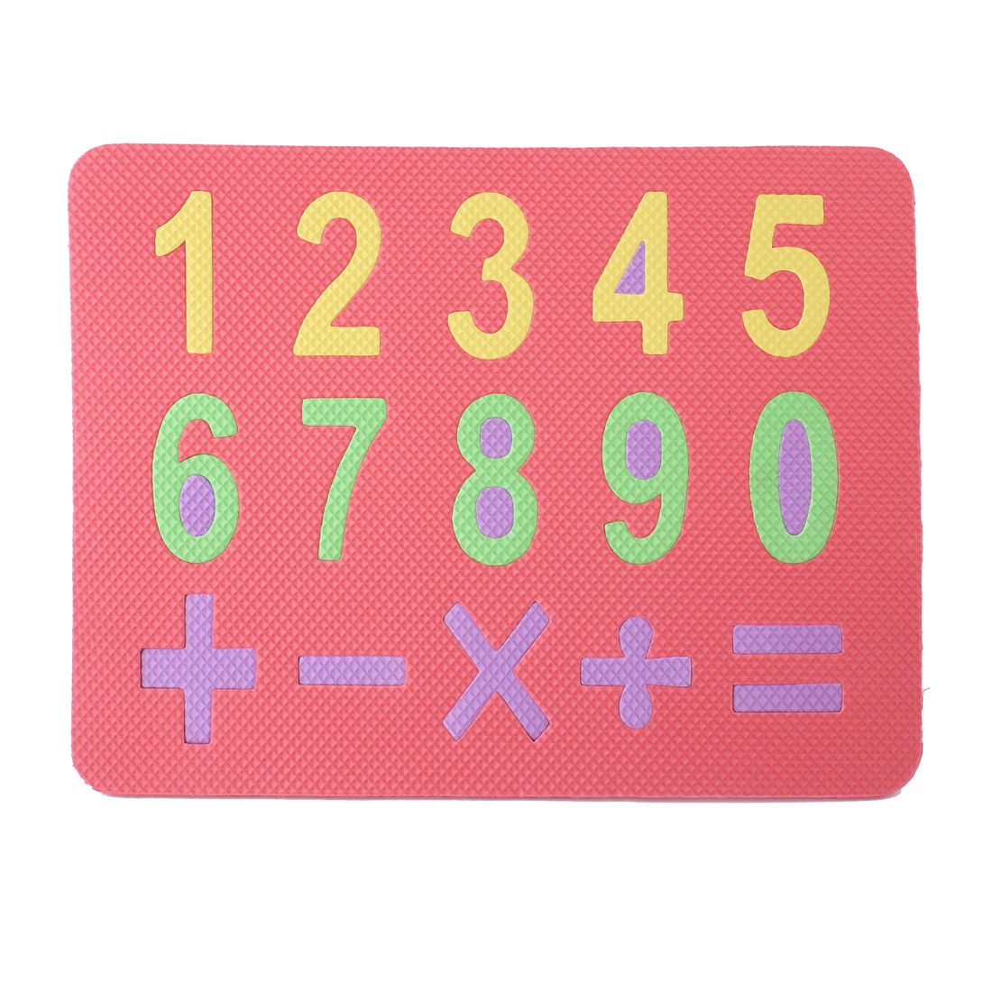 Red Foam Numbers Number Jigsaw Mat Puzzle Toy for Children