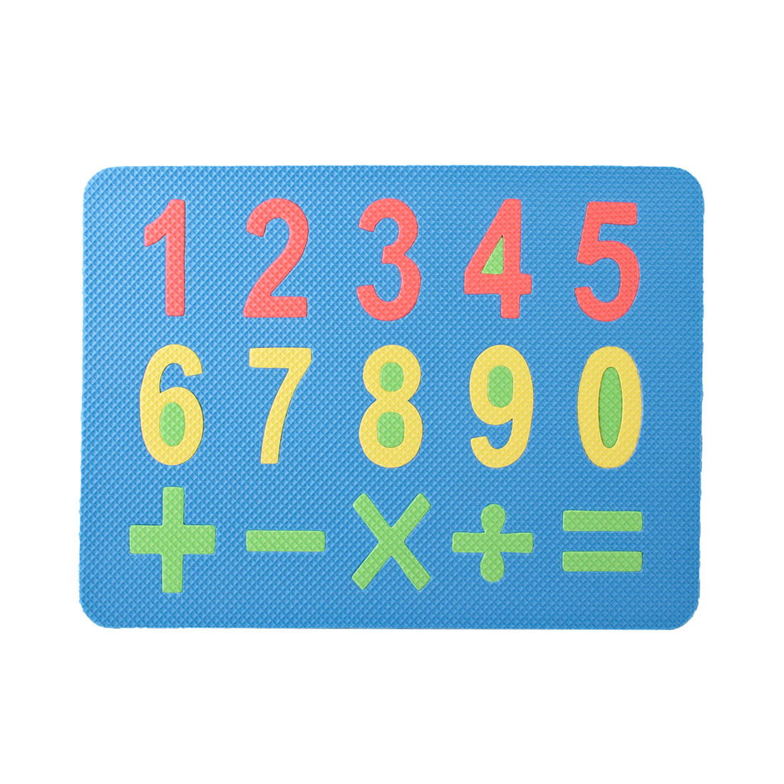 Kids Blue Foam Numerals Number Education Jigsaw Puzzle Mat
