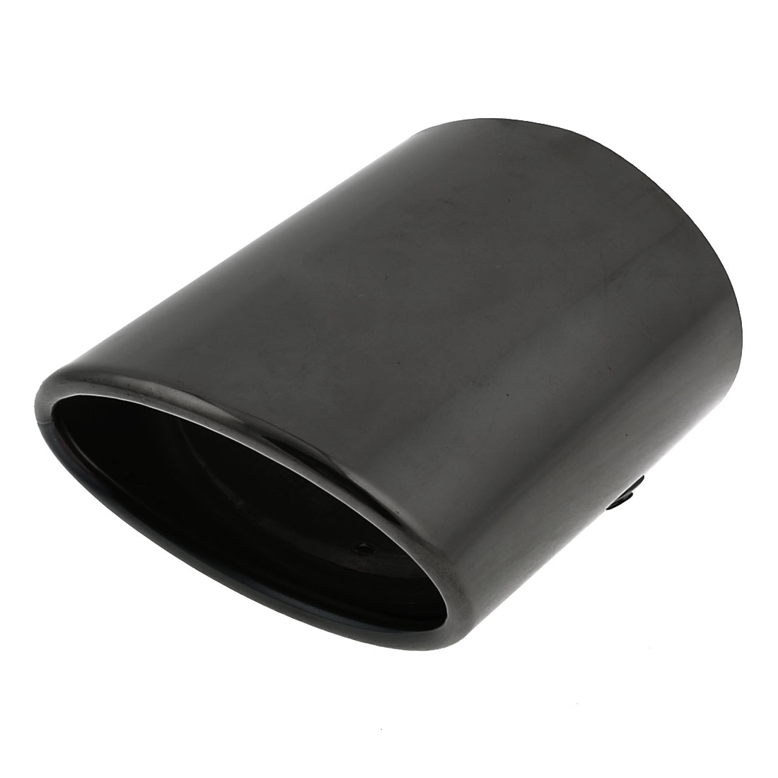 "3"" Inlet Dia Stainless Steel Exhaust Muffler Tip Mock Black for Toyota Pardo"
