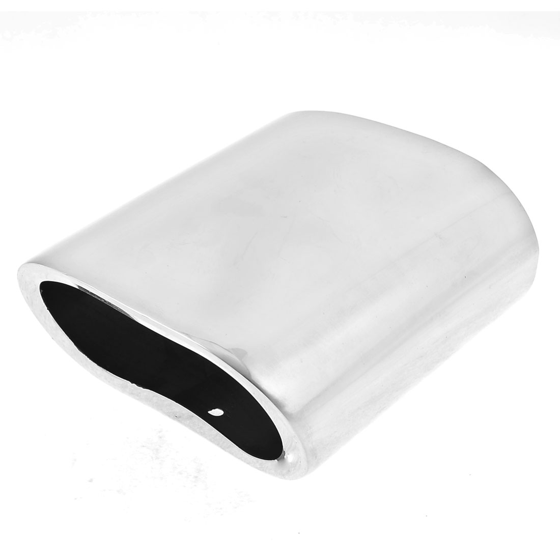 11.9 x 6.8cm Inlet Dia Stainless Steel Exhaust Muffler Tail Pipe Tip for BMW318