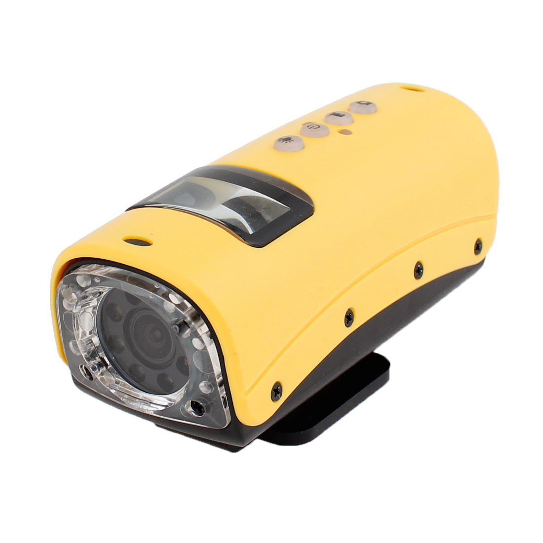 Yellow Black Waterproof Sports Full HD 720P Mini DV Camcorder Digital Video Recorder