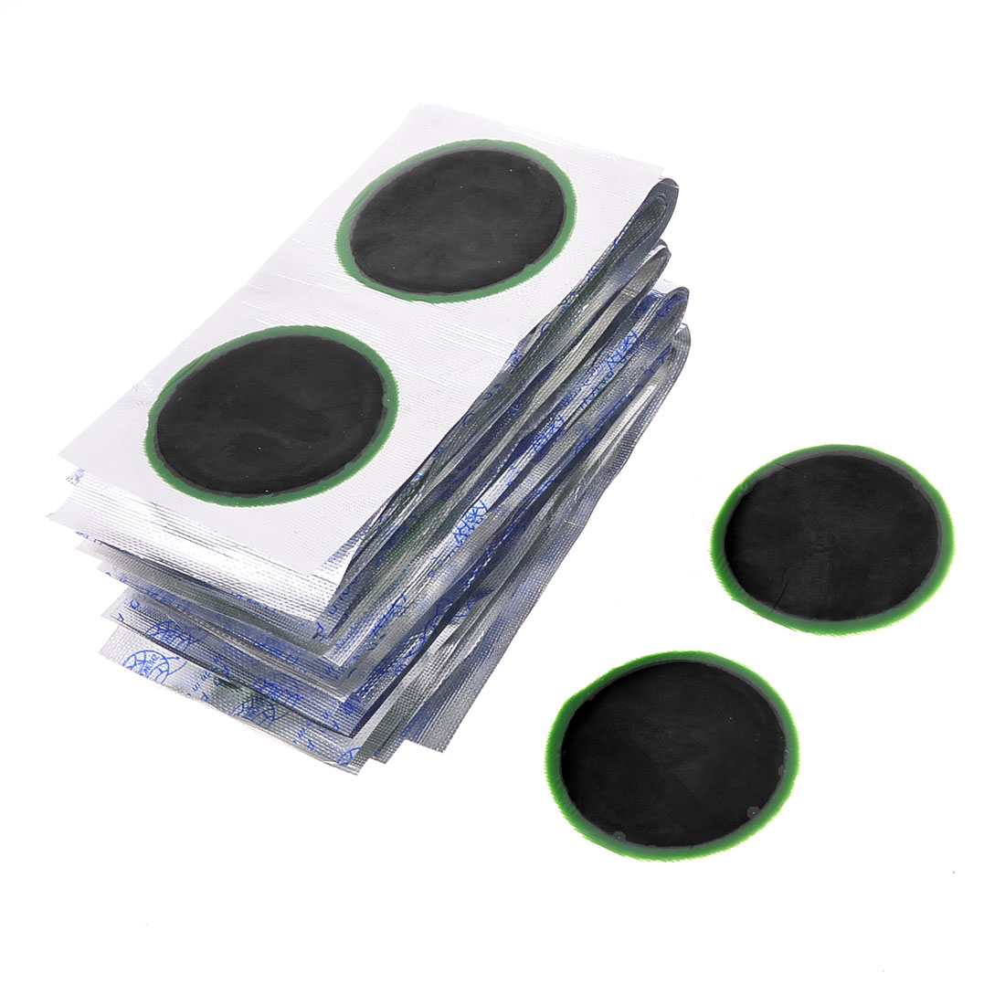Car Auto 5cm Dia Outer Tire Tyre Puncture Rubber Repair Patches 64 Pcs