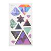 Diamond Geometrical Pattern Temporary Tattoos Body Stickers