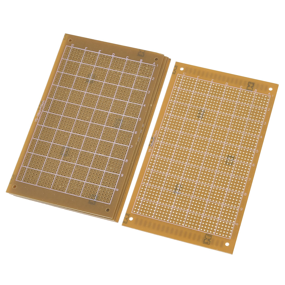 5 x Brown Single Side Copper Panel Prototype PCB Board 15 x 9cm