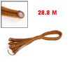 28.8m Brown Nylon Braided Cord War Game Lanyard Type Parachute Rope