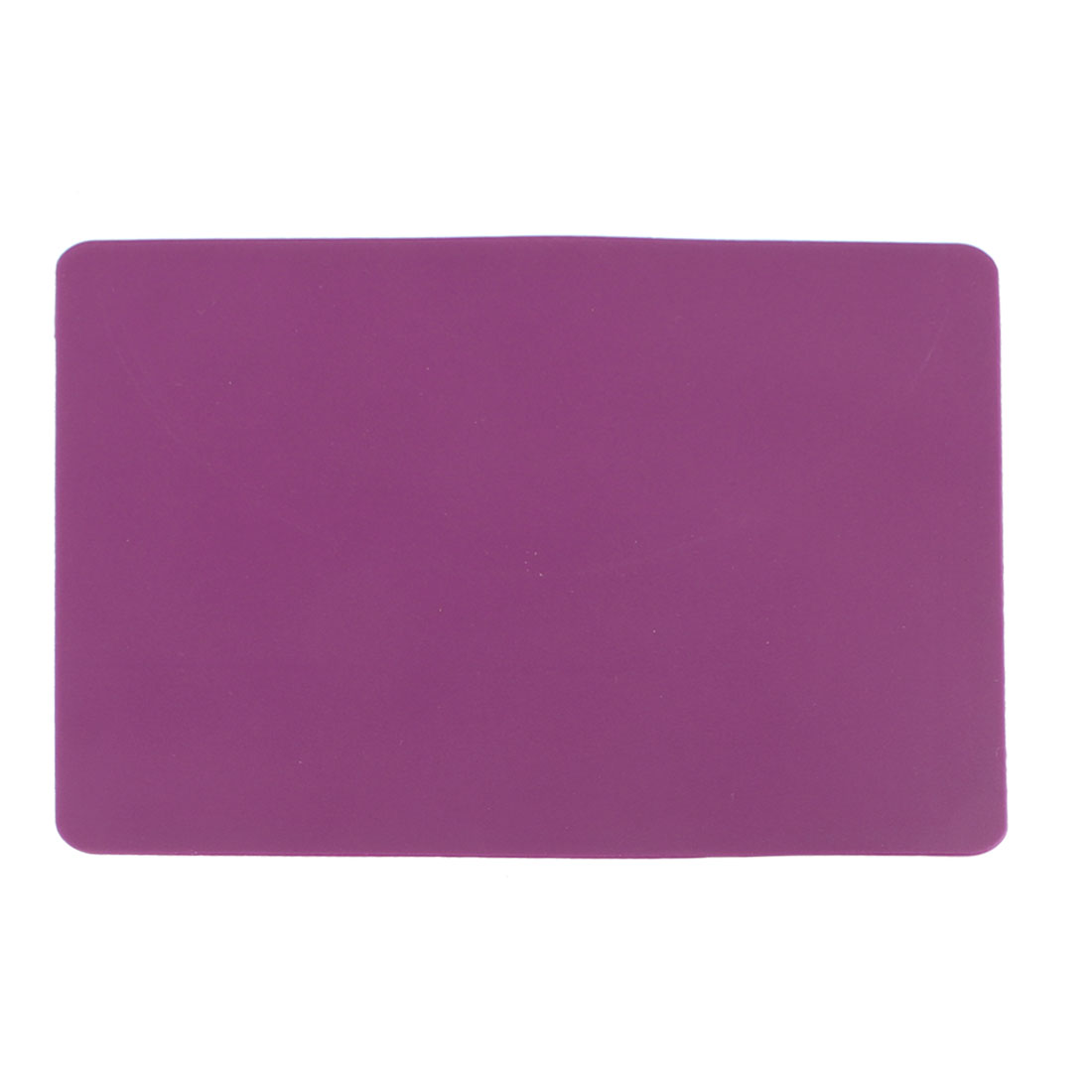 23cm x 19cm Silicone Anti-slip Purple Mouse Pad Mat for Laptop