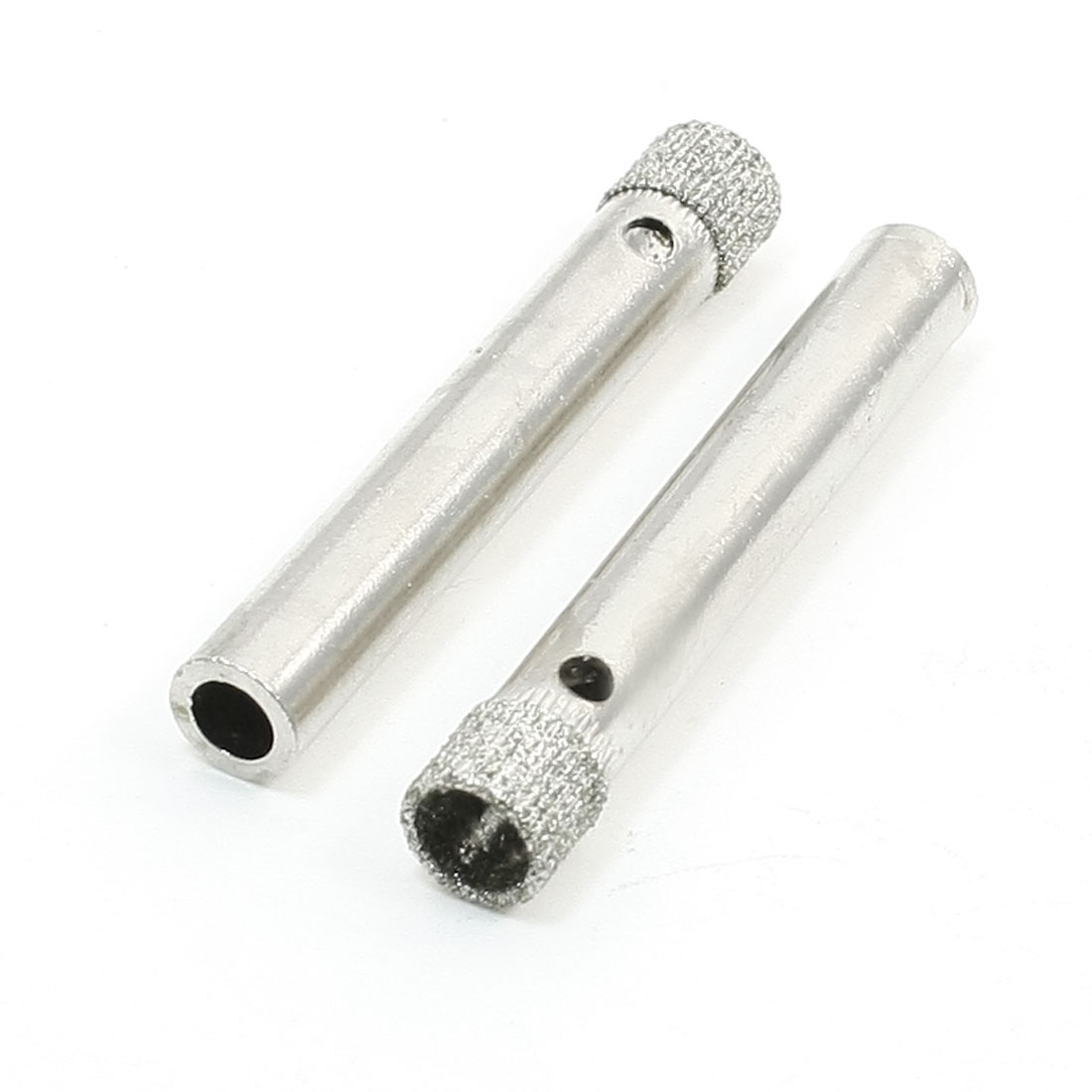 2 x 8mm Cutting Hole Diameter Diamond Coated Drill Bit Glass Hole Saw