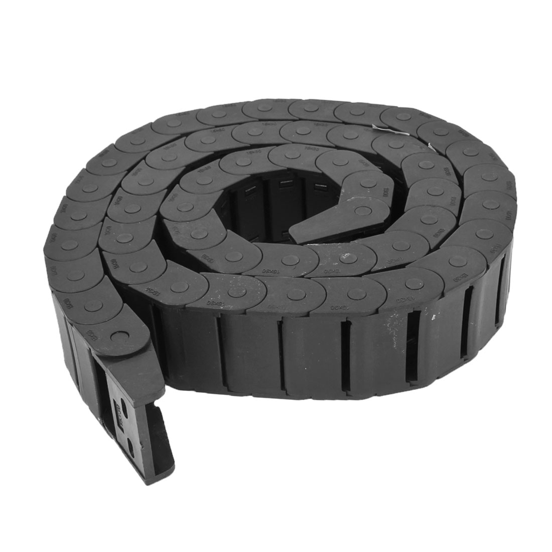 Machine 1.04M Black Plastic Towline Cable Carrier Drag Chain