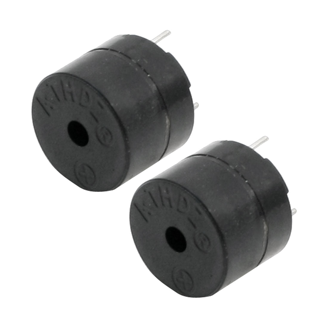 DC 5V 85dB Industrial Black Active Electronic Buzzer 2pcs