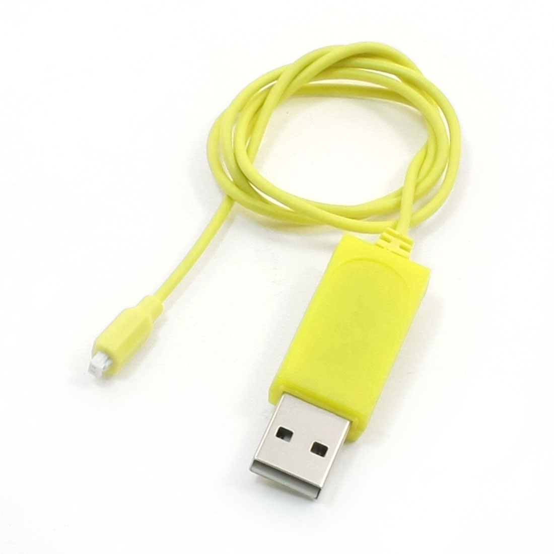 Yellow USB Charger Cable S107 S105 RC Helicopter Charging Connector 65cm