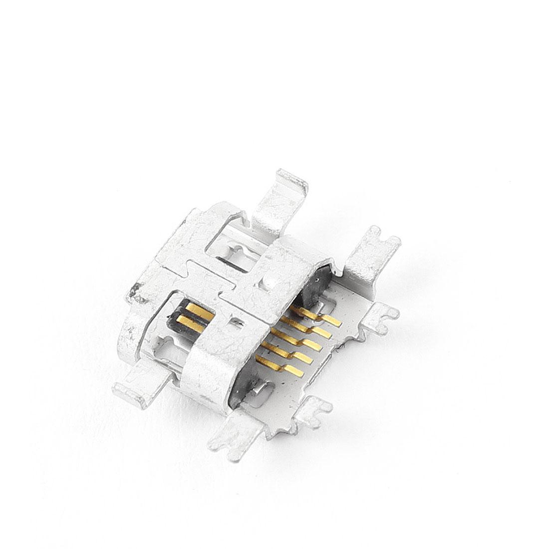 Repair Parts Type B Micro USB Female 5 Pin Jack Port Socket Connector
