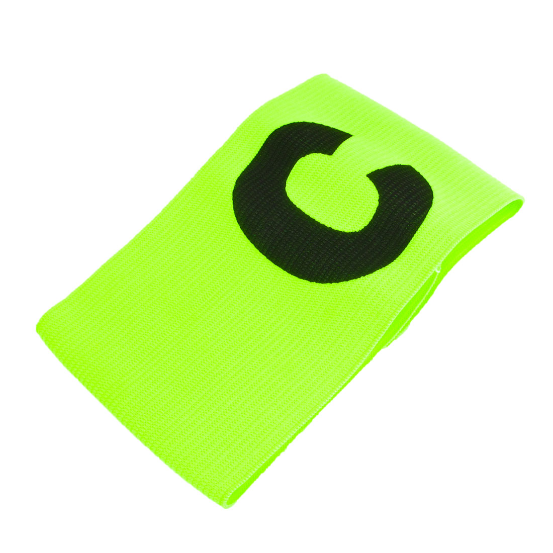 Yellowgreen Elastic Tension Football Soccer Captain Armband