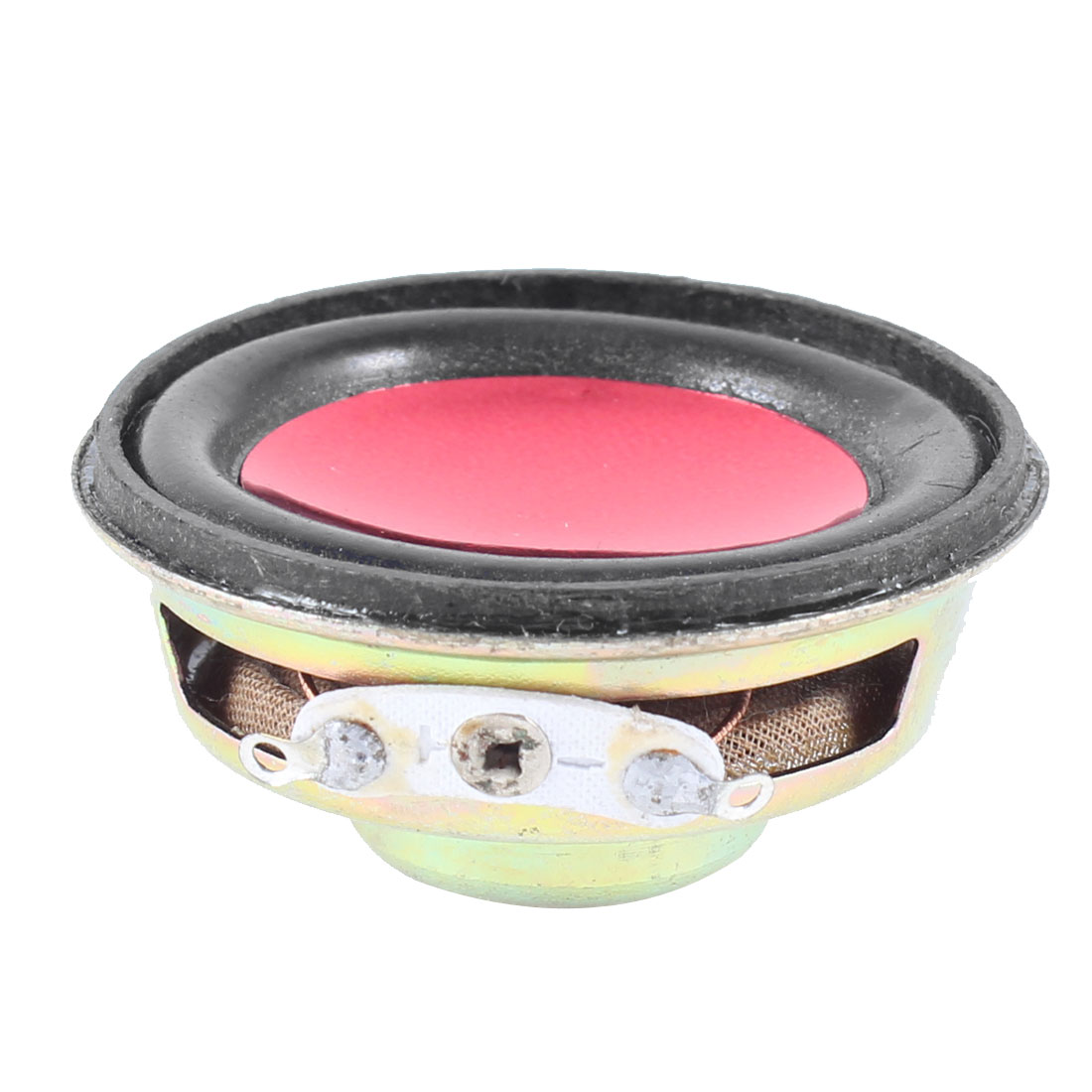 Fuchsia 40mm Dia Round Internal Magnet Speaker Trumpet Horn 4 Ohm 3W