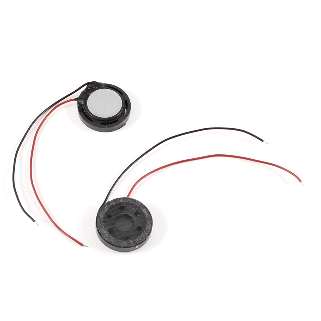 2pcs 15mm Round Magnetic Magnet Speaker Tweeter Horn 8 Ohm 1W