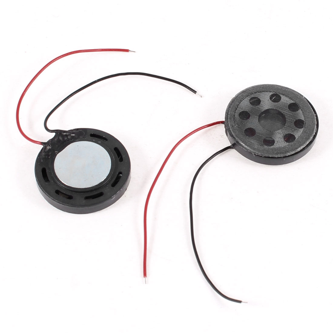2pcs 20mm Round Magnetic Magnet Speaker Tweeter Horn 8 Ohm 1W