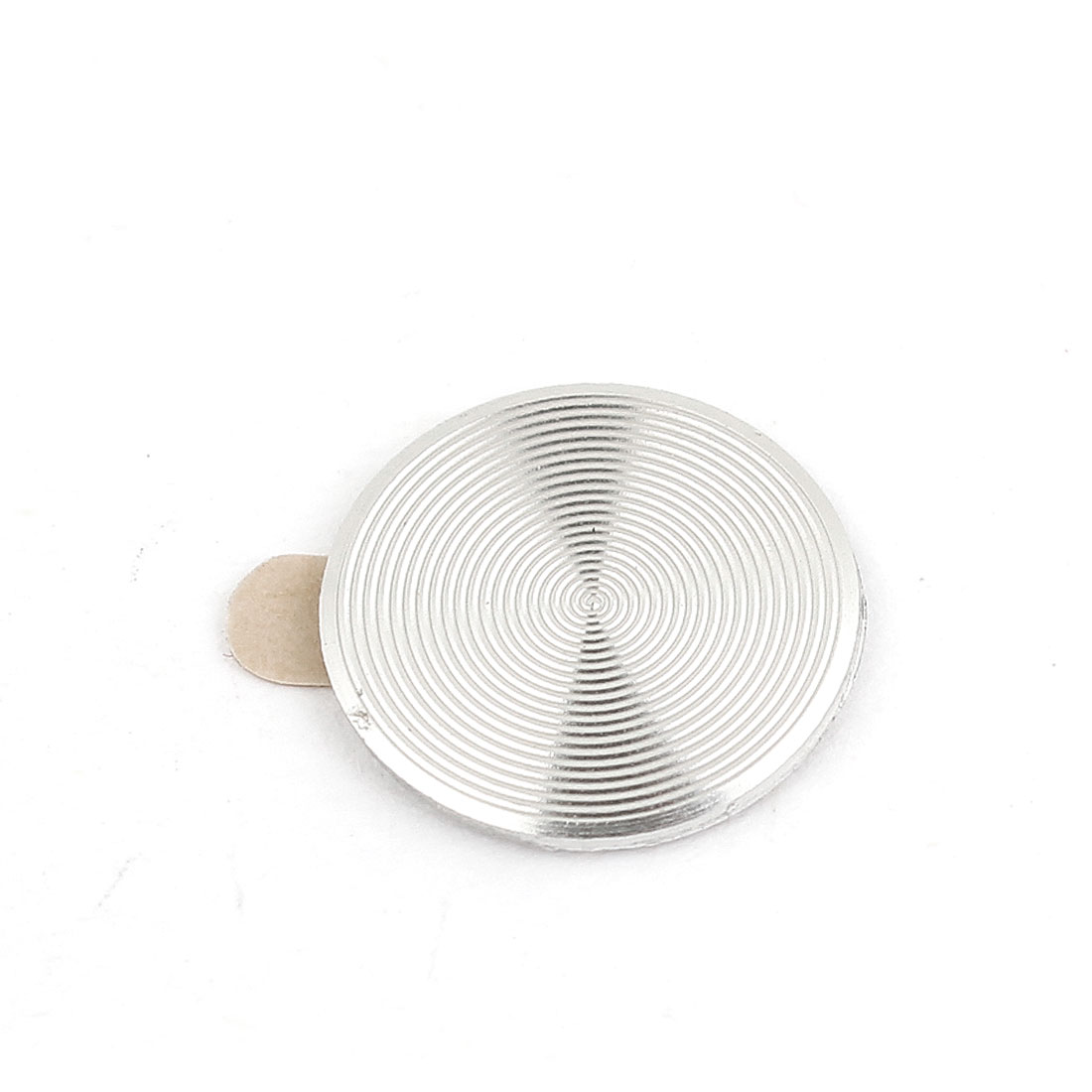 Metal Silver Tone Home Button Stickers for Phone