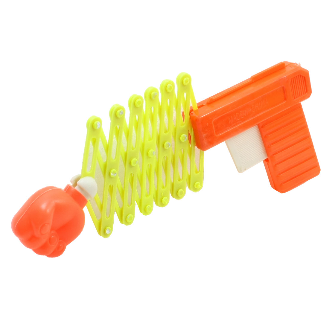 Yellow Orange Red Wrench Control Fist Catapult Out Telescopic Toy
