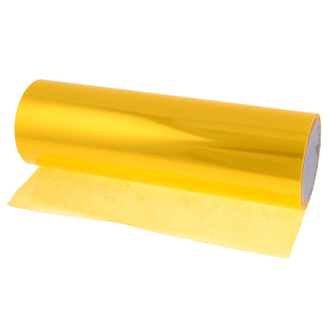 9M Length 30cm Width Gold Tone Car Auto Headlight Color Change Film Stickers