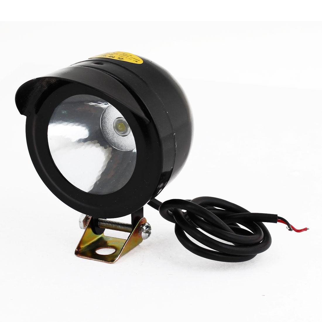 Motorbike Black Plastic Super Power White LED Decoration Spot Light