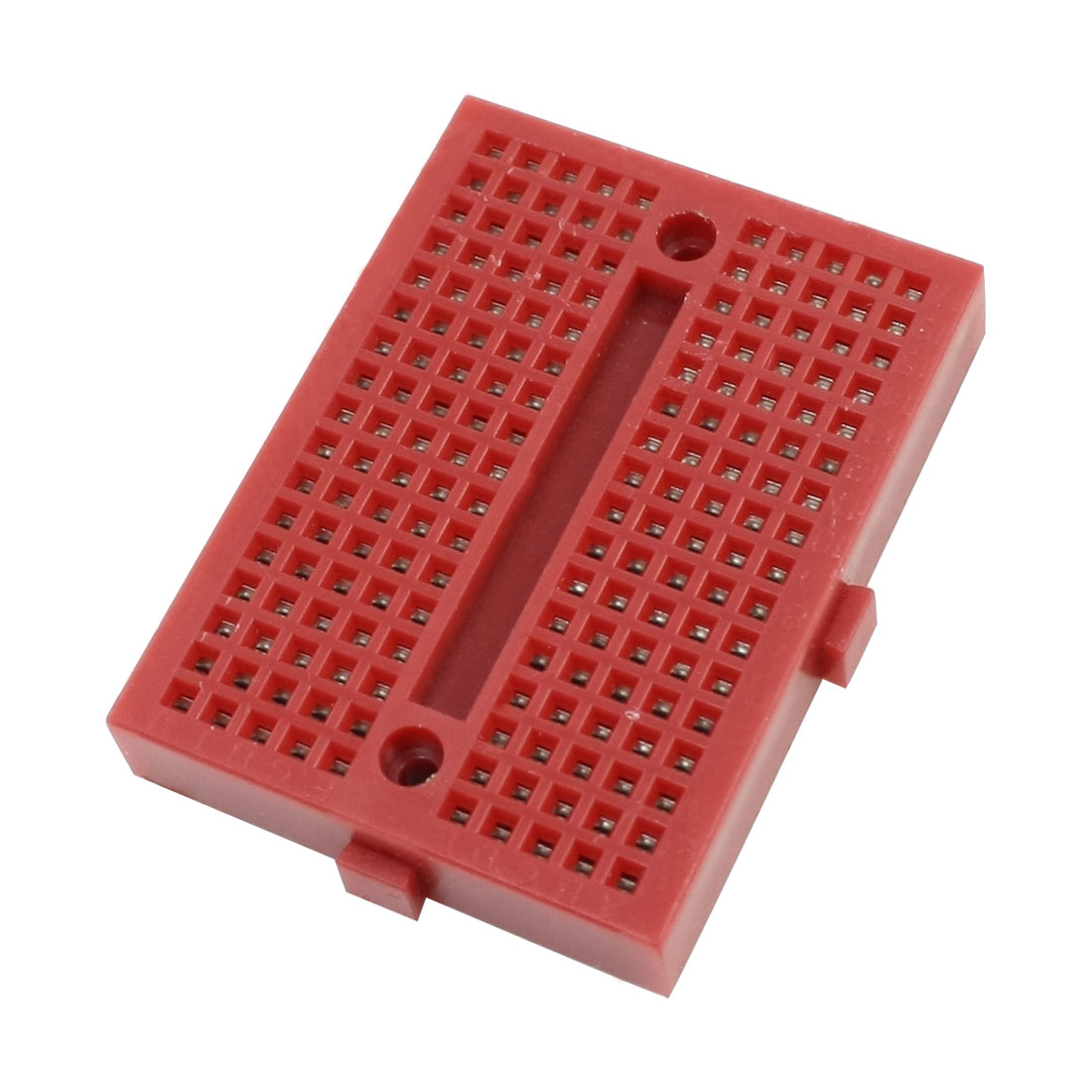 47mm x 35mm x 9mm 170Pcs Tiepoint Electronic Solderless Breadboard Red