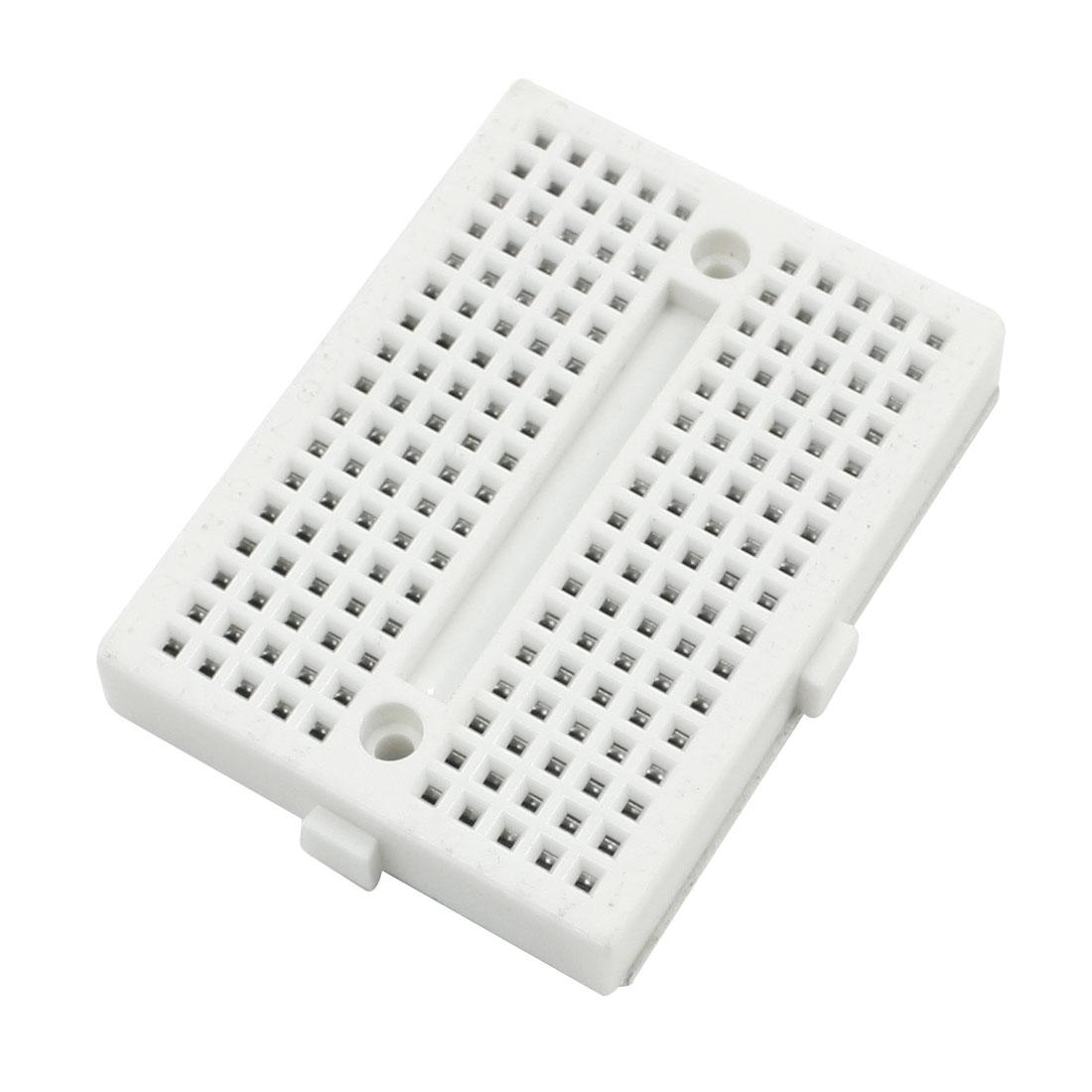 Electronic Circuit Test Board Breadboard 170Pcs Tiepoint 47mmx35mmx9mm
