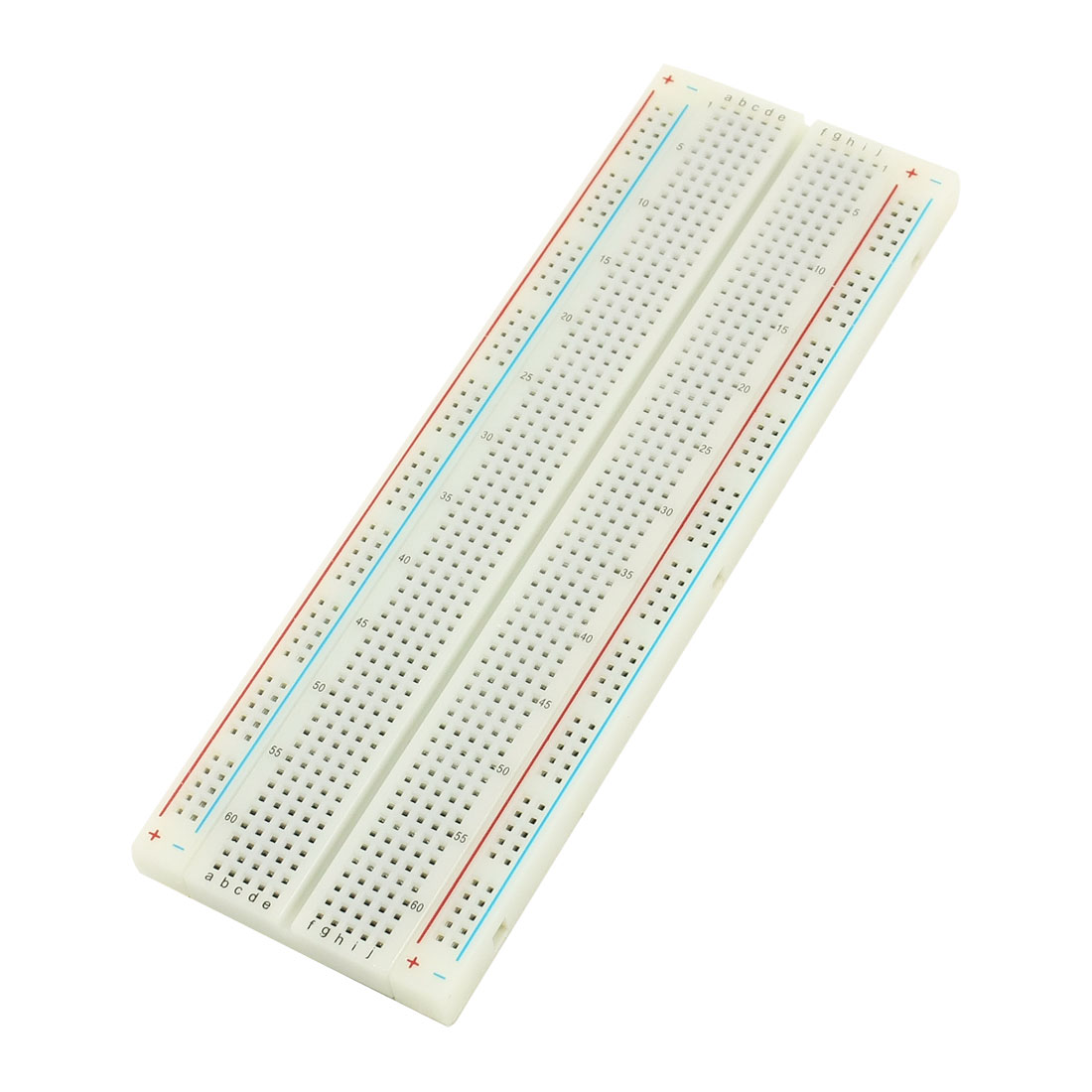 165mmx55mmx8mm 830Pcs Tiepoint Electronic Circuit Solderless Breadboard