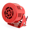 Universal Motorcycle Red Metal Warning Trumper Horn