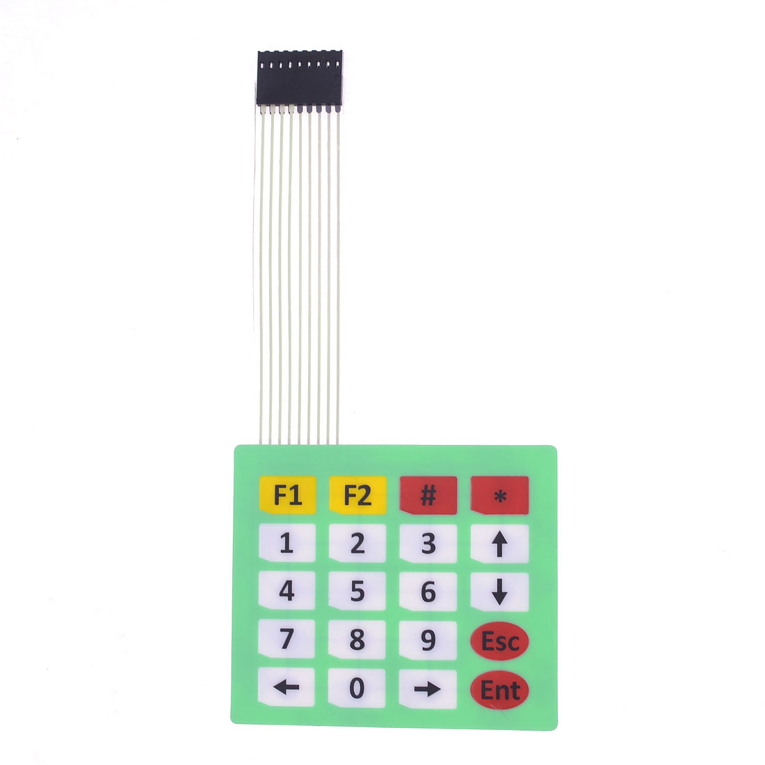 DC 12V 4 x 5 Matrix 20 Key Membrane Switch Keypad Keyboard 85 x 73 x 0.8mm