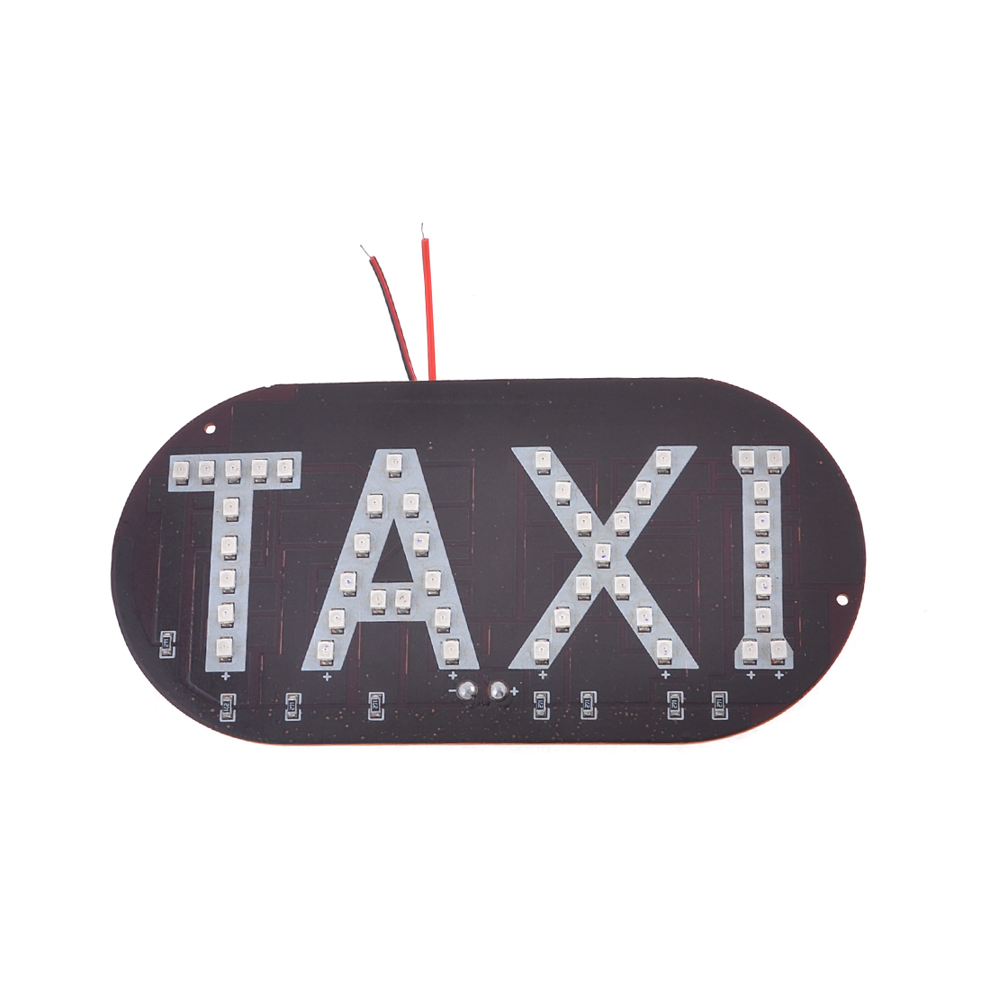 Auto Car Windscreen Cab Sign Red 1210 3528 SMD 45-LED Taxi Light Lamp Board