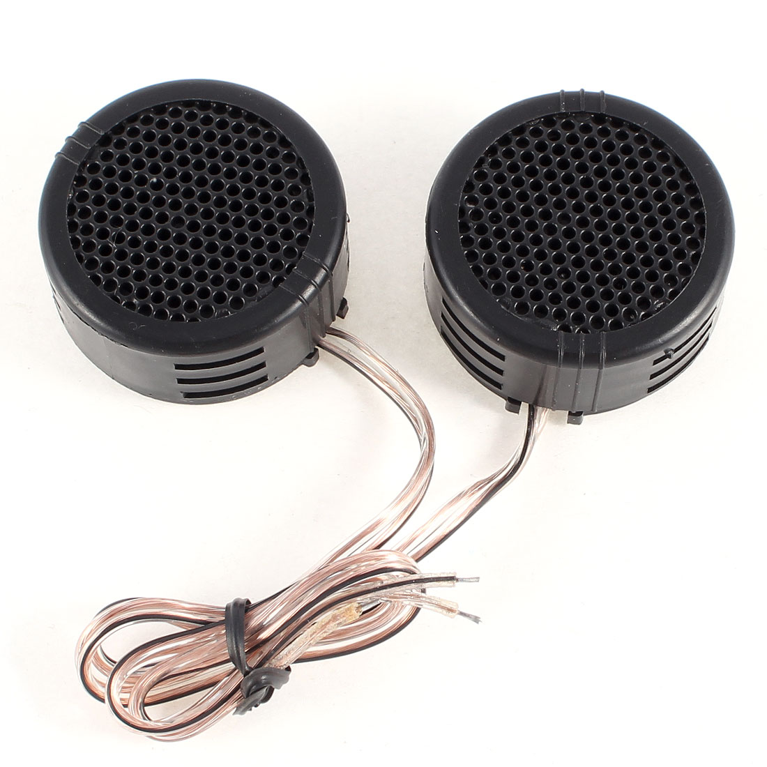 2 Pcs Black Dome Car Auto Tweeters Speakers 500W