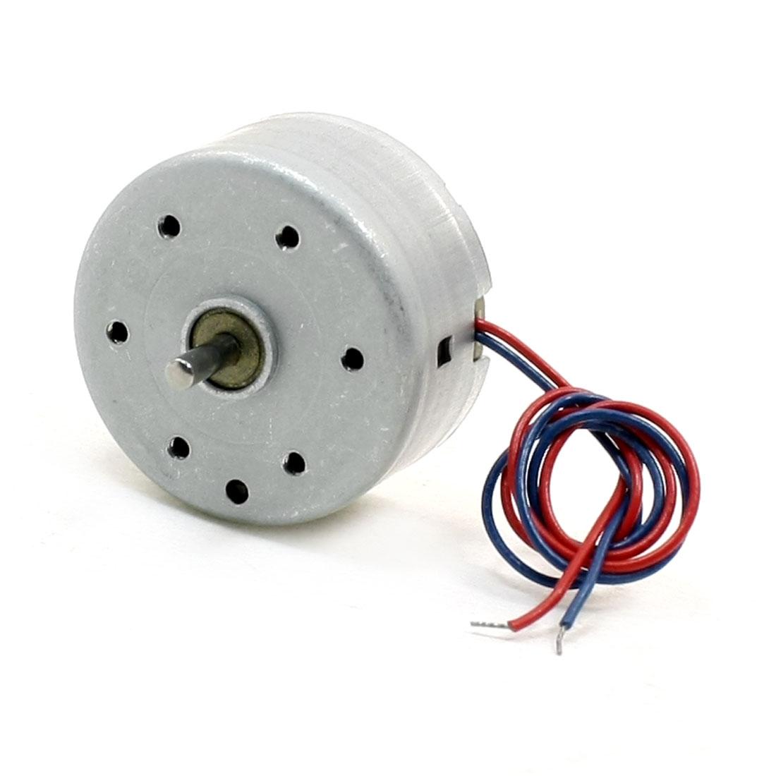 2mm Shaft DC 6V 4000RPM Mini Motor for DVD CD Player