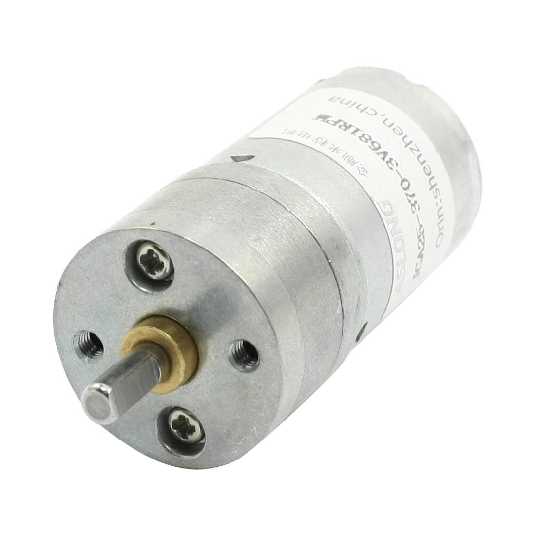 High Torque Speed Reducing Cylinder DC Gear Motor DC3V 681RPM