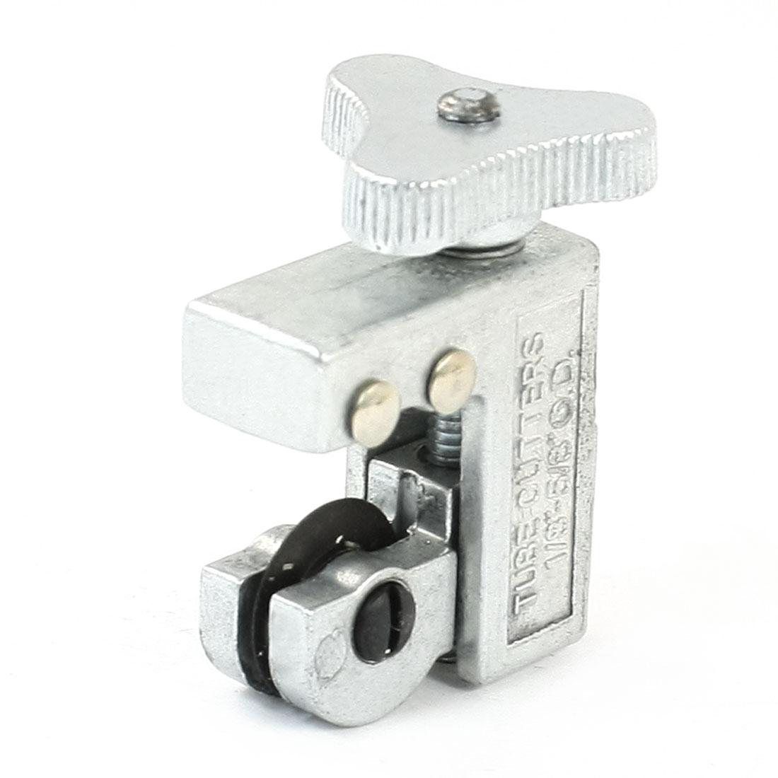 Silver Tone Metallic 3-16mm Cutting Diameter Tube Cutter