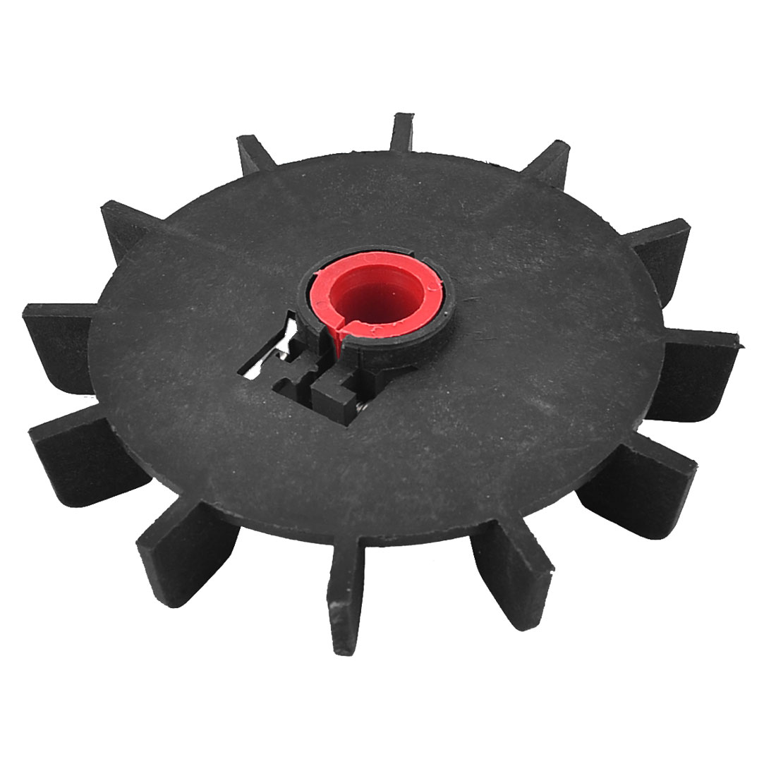 Replacement Black Plastic Inner Dia 15mm 12 Impeller Motor Fan Vane