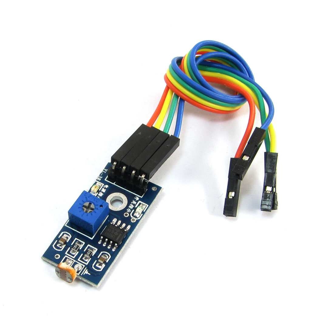 DC 3.3-5V 20cm Cable Length Photo Resistor Photoelectric Sensor Module