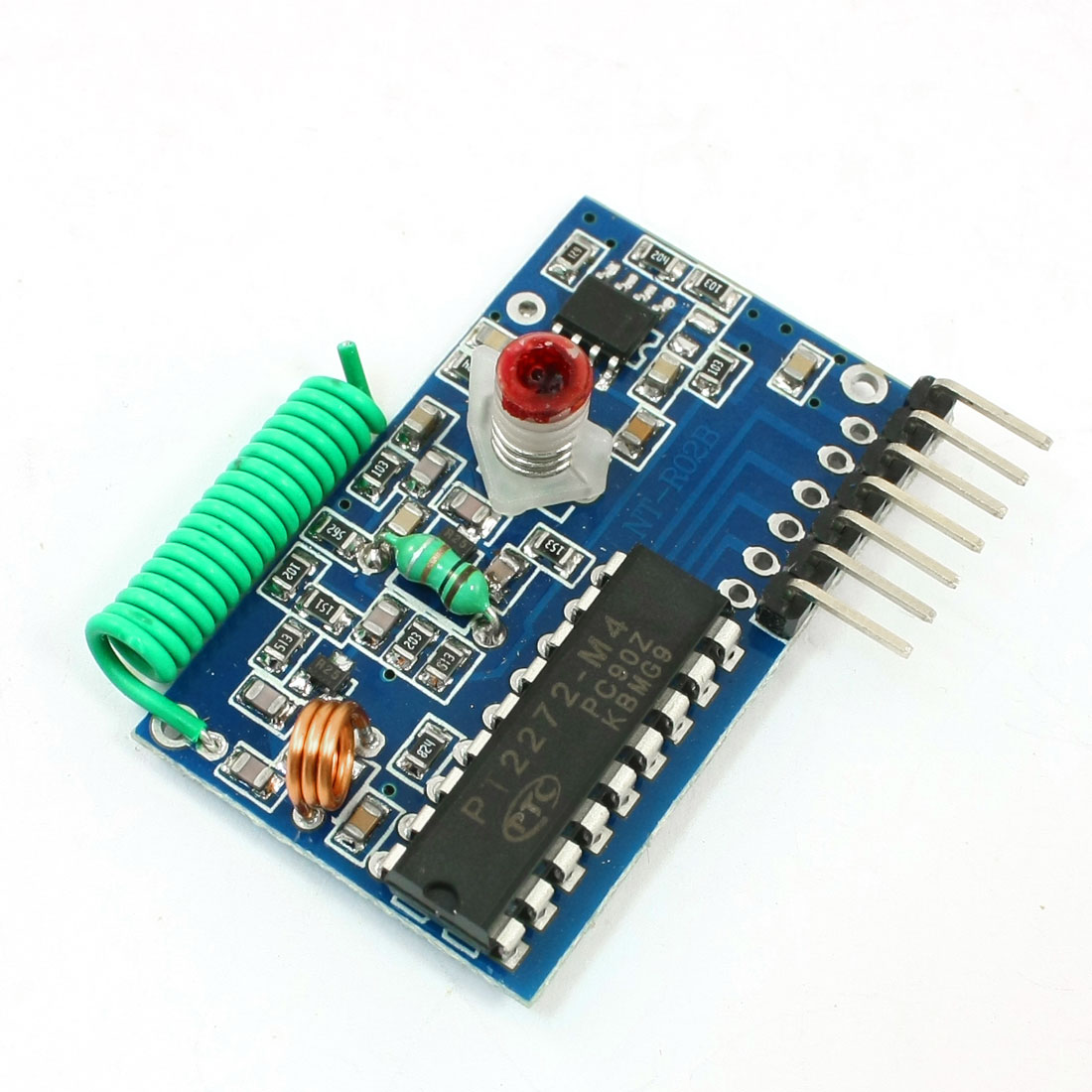 PT2272-M4 Data Transmission 250-450MHz RF Wireless Receiver Module DC 5V